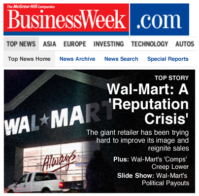 Business Week Headline